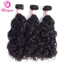 Brazilian Hair Extensions Water Wave Bundles Human Hair Weaves Natural Color Unprocessed Virginity Hair 1/3/4 Bundle Deals Weave