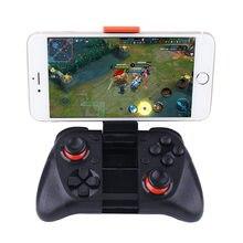 Mocute 050 vr jogo almofada android joystick bluetooth controlador selfie controle remoto do obturador gamepad para pc telefone inteligente + suporte