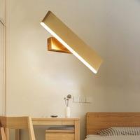 Jetzt Die Minimalist Led Wand Lampe Idee Kann Drehen Acryl Lange Wand Lampe Treppen Gang Nacht Lampen Wand Lichter für home Studie-in LED-Innenwandleuchten aus Licht & Beleuchtung bei