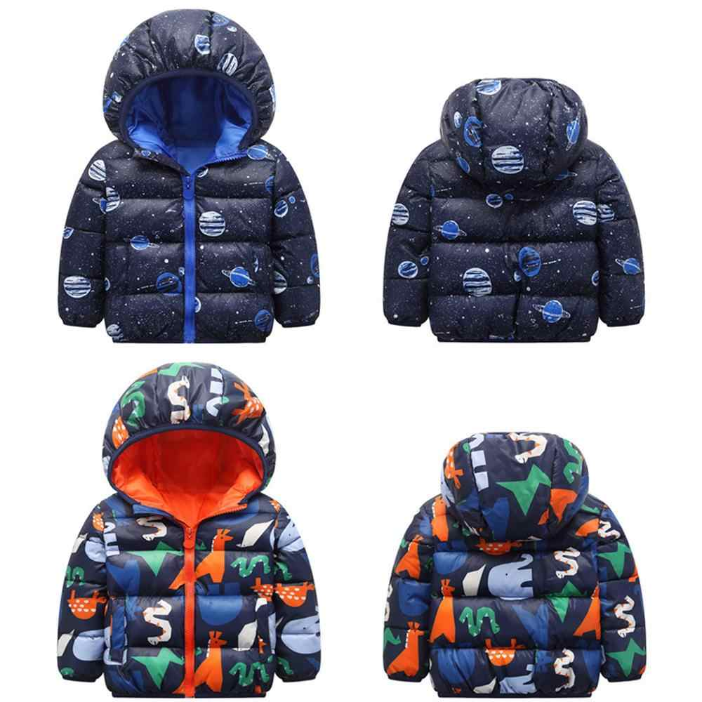 2020 Winter Toddler Kid Baby Girl Boy Cartoon Animal Hooded Coat Jacket Outwear Warm velvet Outfits roupa infantil Kids Clothes