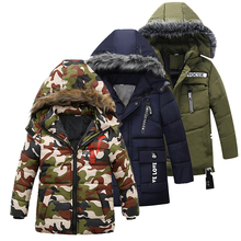 Baby Coat Jackets Girls Snow-Wear Boys Parka Infant Autumn Kids Warm Casual Snowsuit