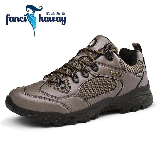 Zapatos de senderismo botas de combate del Ej rcito zapatillas de Trekking antideslizantes zapatos de escalada