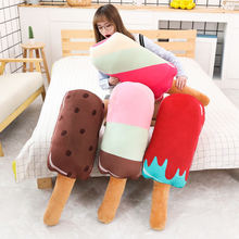 Новая Милая подушка в форме Фруктового мороженого плюшевая игрушка