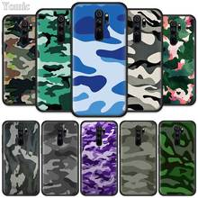 Camouflage Camo Military Army Fitted Case for Xiaomi Redmi Note 8T 6 7 8 K20 Pro 8A 7A 7S 6A Silicone Black Phone Bag Cover Coqu pubg game fitted case for xiaomi redmi note 8t 6 7 8 k20 pro 8a 7a 7s 6a silicone black phone bag cover coque