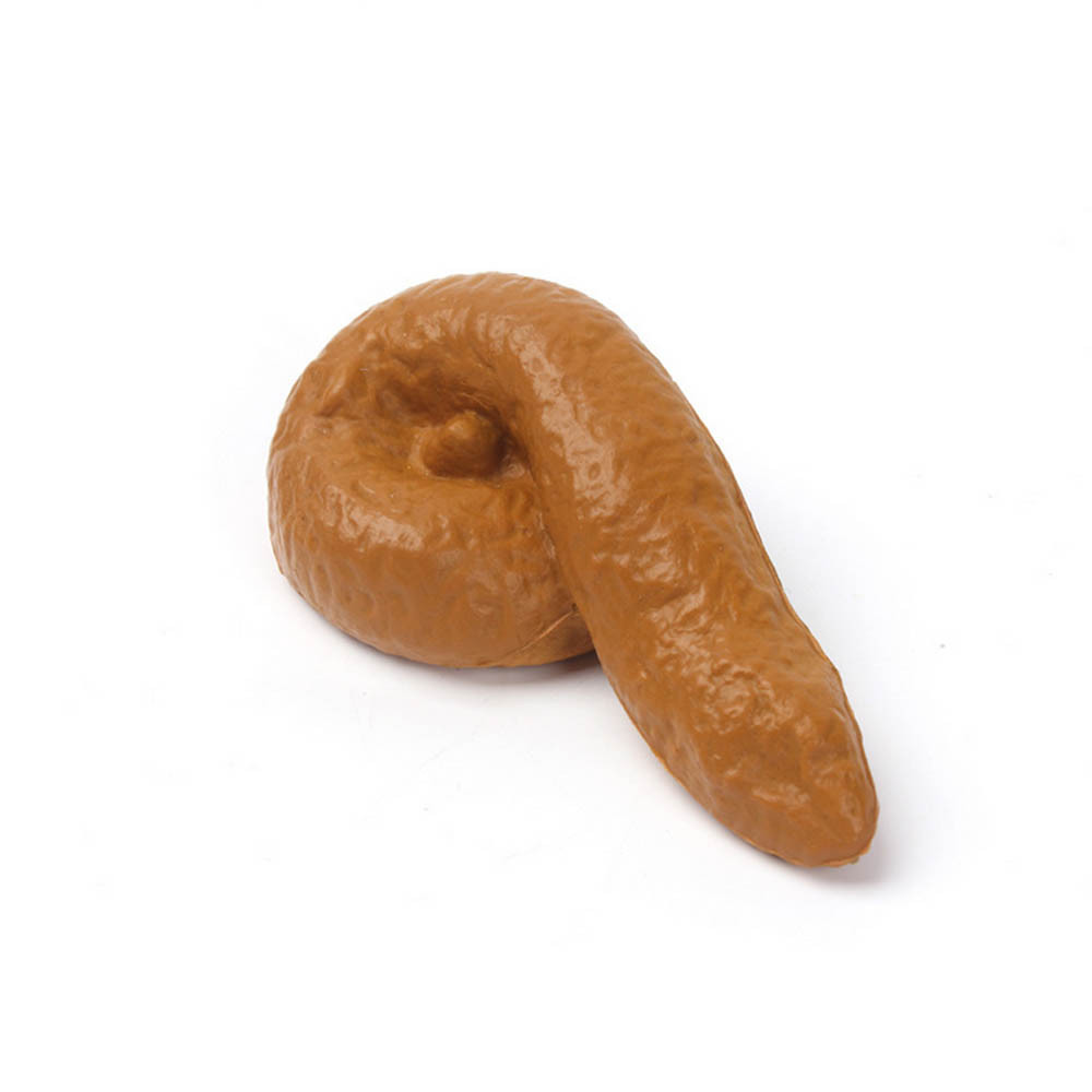 MUQGEW 2019 Novelty Toy Poo Evil Spoofed Toys Simulation Stool Hilarious Fake Poo Gift Funny Stress Reliever CN8