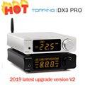 TOPPING DX3Pro LDAC usb-усилитель для наушников класса Hi-Fi Bluetooth 5,0 выход наушников аудио декодер XMOS XU208 AK4493 OPA1612 DAC DSD512 оптический