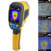 HT 02D Handheld Thermische Camera Warmtebeeldcamera Ir Infrarood Thermometer Temperatuur Thermische Imaging Tool Batterij Aangedreven