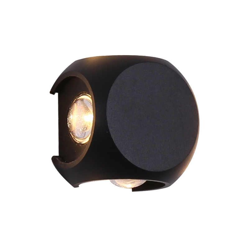 اضاءة خارجيةإضاءات جدران ضد الماء كرة صغيرة ذكية إضاءة خارجية للمنزل خارج جدار فناء تطبيق إضاءة ديكورية حديثة