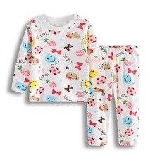 Bebe/одежда для сна для новорожденных; пижамные костюмы для маленьких девочек; хлопковая мягкая одежда для сна с героями мультфильмов для младенцев; пижамы для малышей; одежда с длинными рукавами