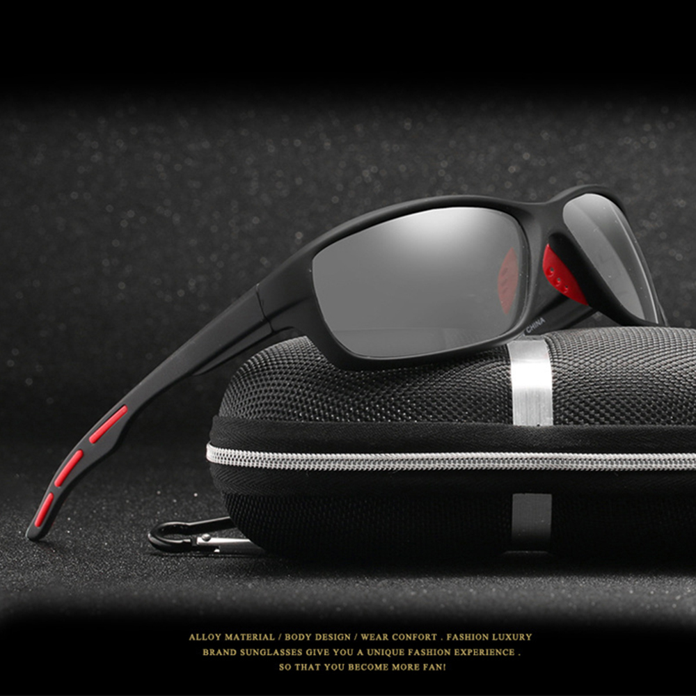 New Polarized Glasses Sport Photochromic Eyewear Bicycle Glass MTB Bike Bicycle Riding Cycling Car Accessories Sun Glasses
