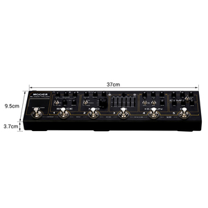Image 2 - MOOER BLACK TRUCK 6 in 1 Combined Guitar Pedal Compressor +Overdrive +Distortion + EQ +Modulation +Delay/Reverb Built in Tuner