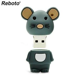 Image 3 - Retobo Pen Drive 4GB 8GB 16GB 64GB 32GB Cute Mouse USB Flash Drive Memory Stick Mini U Disk USB 2.0