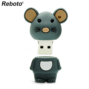 Image 3 - Retobo kalem sürücü 4GB 8GB 16GB 64GB 32GB sevimli fare USB Flash sürücü bellek sopa Mini U disk USB 2.0