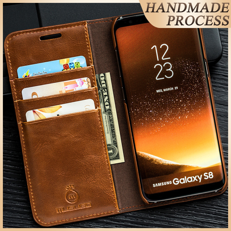 Musubo Luxury Case For Galaxy Note 10+ 10 Plus Flip Cover For Samsung Note 9 Leather Casing Wallet Funda S10 S9 S8 Plus Fundas|leather wallet case|case for galaxy|phone cases - title=