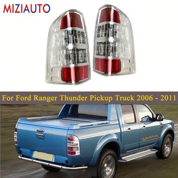 цена на Led Rear Tail lights For Ford Ranger Thunder Pickup Truck 2006 2007 2008-2011 Tail Stop Brake Lamp Car Parts turn signal light