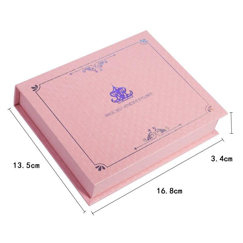 posticos e pinca conjunto natural 3d magnetico delineador longos cilios 05