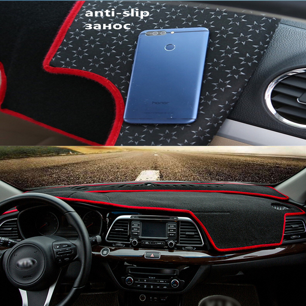 YiJia Anti-slip Car Dashboard Cover Dashmat Pad Sun Shade Dash Board Cover Fit For <font><b>Audi</b></font> <font><b>A4</b></font> 2009 2010 2011 2012 <font><b>2013</b></font> 2014 image