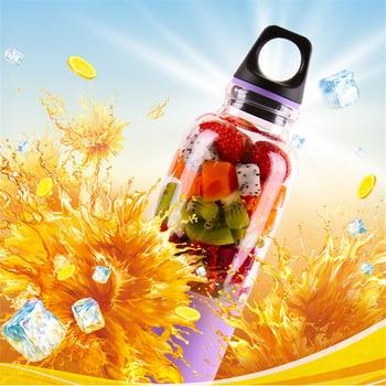 500ML Mini Portable Electric Fruit Juicer USB Rechargeable Juicer Mixer Smoothie Maker Blender Machine Juicing Cup недорого