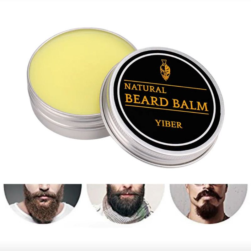 Styling Products Modeling Mustache Cream Hair Loss Care Beard Wax Men's Beard Wax Nourishing Beard Cream