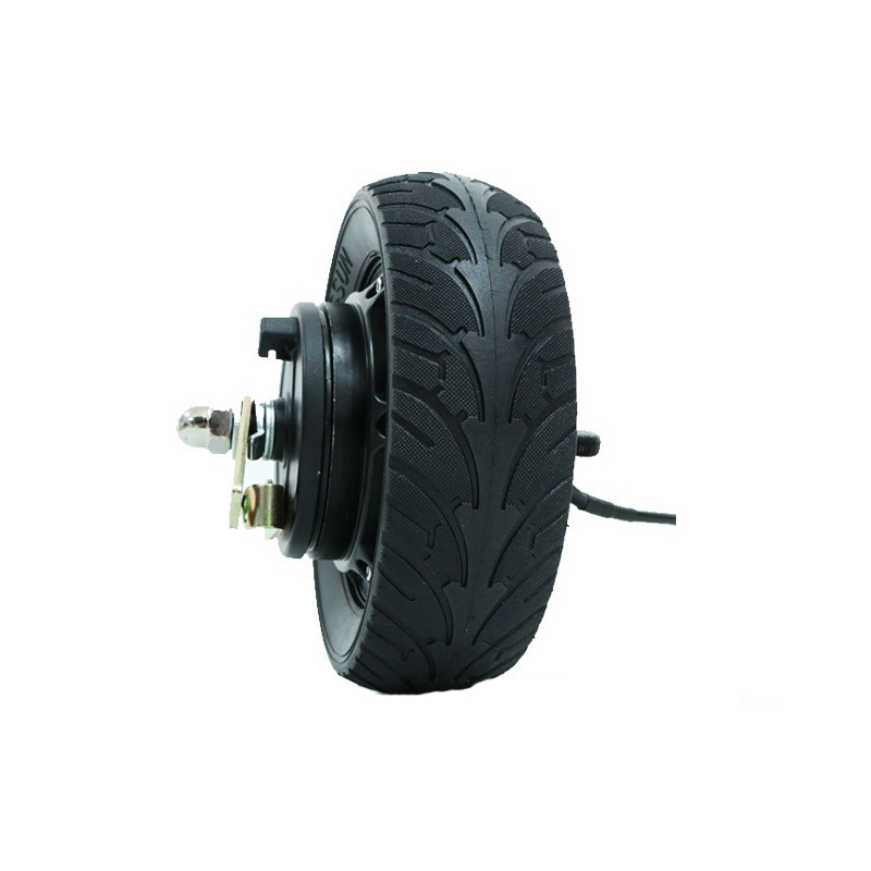 8inch <font><b>500W</b></font> 24V/36V/48V Universal Brushless Hub <font><b>Motor</b></font> <font><b>Electric</b></font> <font><b>Scooter</b></font> Wide Wheel <font><b>Motor</b></font> Waterproof Brushless <font><b>Motor</b></font> E-<font><b>Scooter</b></font> Kit image
