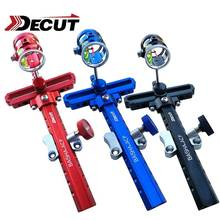 DECUT 1 Set 4x/6x/8x 5 Colors Bow Sight Stand Compound  Aluminum Alloy Material Accessory Arrow Shooting Accessories