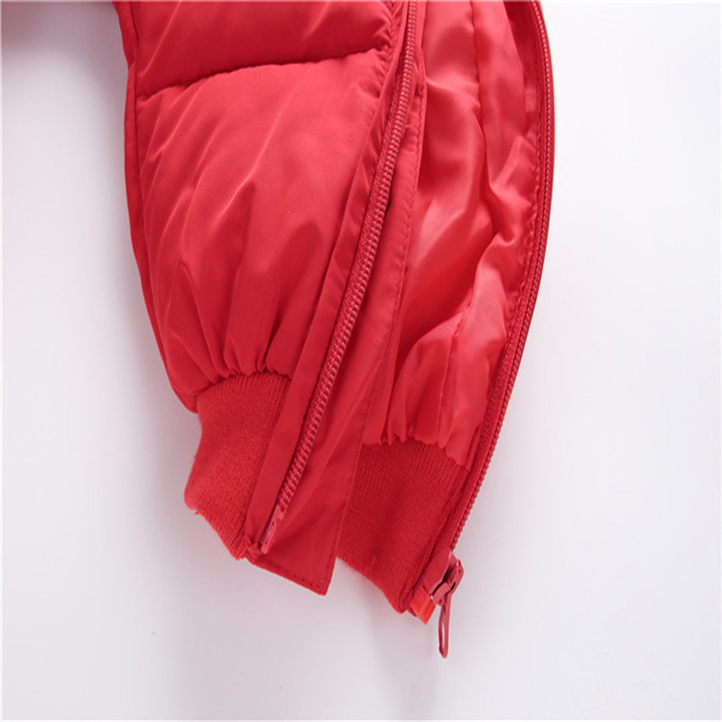 Baby jumpsuit down jacket Newborn Baby Boy Girl Cartoon Winter Warm Thick Jumpsuit Hooded Coat Outwear #4AA22 (2)