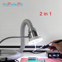 30W TBK Adjustable Solder Smoking Absorber LED Light ESD Fume Extractor for Phone Repair Welding Smoke Instrument Tool