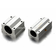2 pcs SC25UU SCS25UU SC25LUU SCS25LUU 25mm Linear Ball Bearing Linear Motion Bearing Slide For CNC