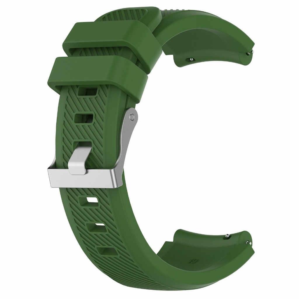 Für tragbare geräte Ersatz Weichen Silikon Uhr Band Handgelenk Gurt für Huami AMAZFIT GTR 47mm unterstützung dropshipping