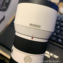 Autocollant de décalcomanie de peau de lentille protecteur anti rayures pour lentille Sony 16 35 f4 24 70 2.8GM 70 200 2.8GM f4 70 300