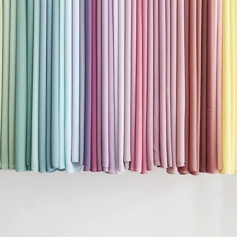 מלזי פרימיום שיפון צעיף לעטוף רגיל/מוצק צבע נשים מוסלמיות חיג 'אב מטפחת קיץ האסלאמי ארוך צעיף פשמינה 175x70cm