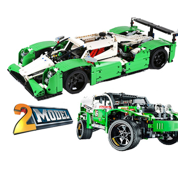 3364 Technic series the 24 Hours Race Car model Building Blocks set classic car-styling toys gifts