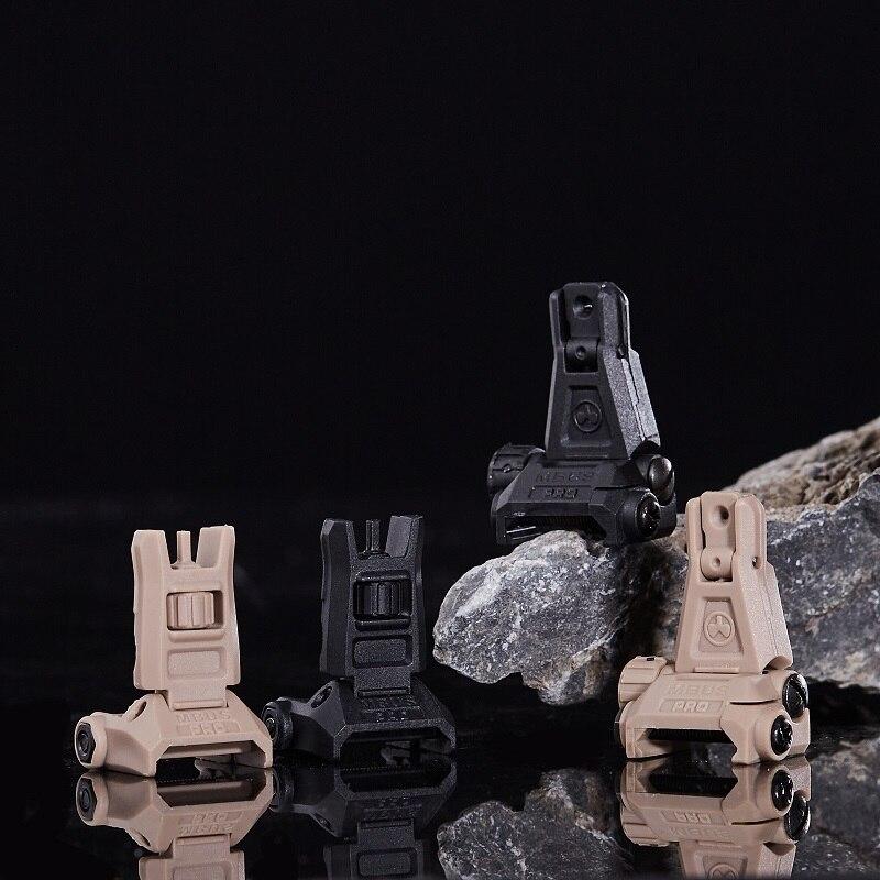 Magpul MBUS PRO нейлоновый передний задний прицел Набор для игрушки Водный гель мяч Blaster страйкбол AEG GBB