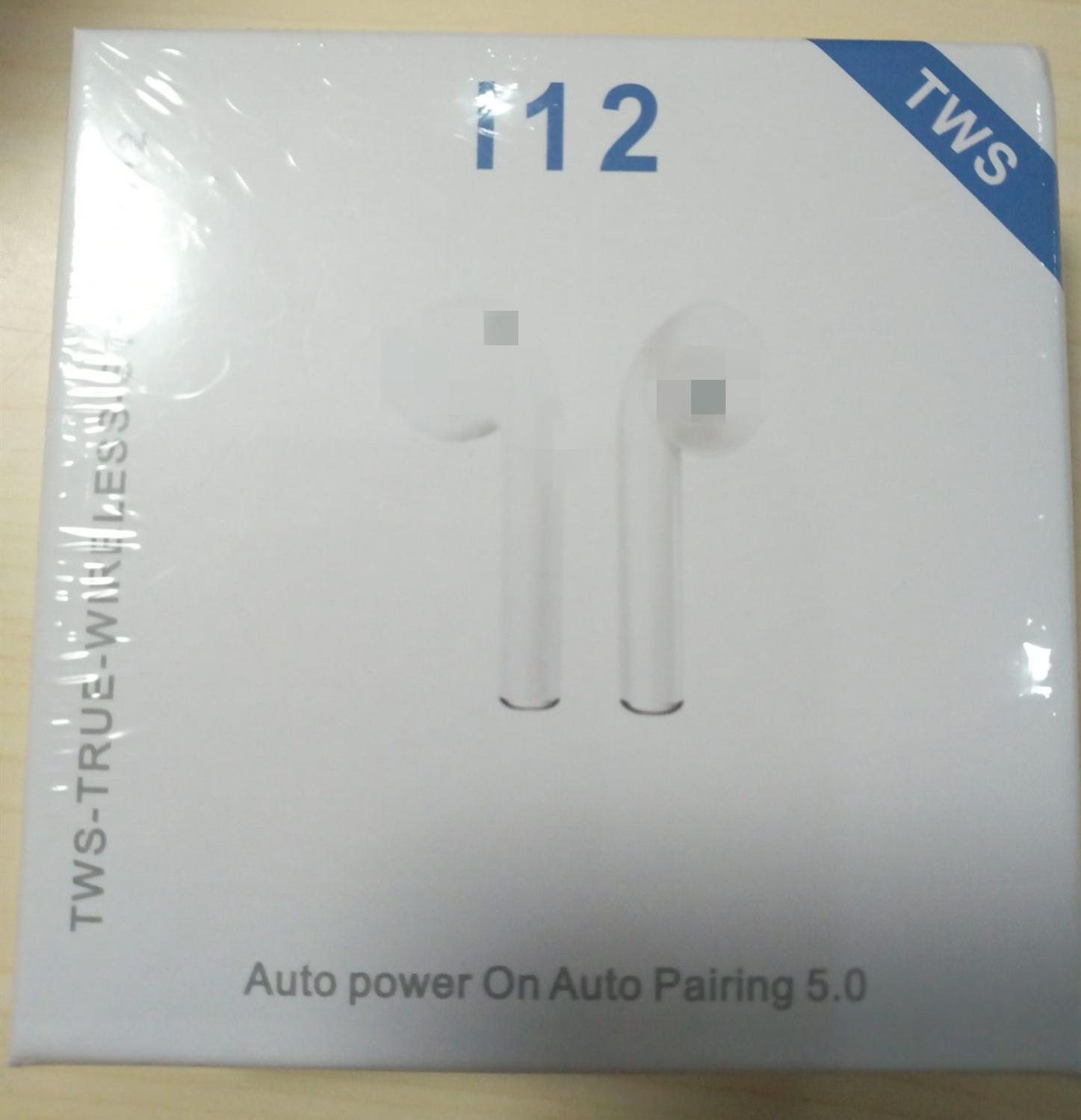 Wireless Stereo Earbuds I12 <font><b>TWS</b></font> Bluetooth Earphone Mini Wireless Headphones Touch Wireless Headset <font><b>Fone</b></font> De Ouvido PK I7s <font><b>I9s</b></font> I11 image