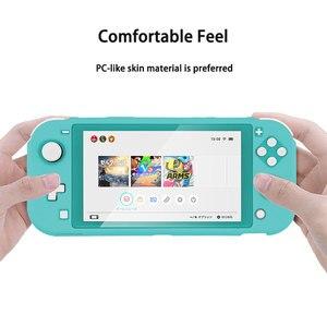 Image 5 - Commutateur Lite coque de étui de protection coloré mignon PC couverture rigide coque de poignée arrière pour Nintend Switch Lite accessoires de Console de jeu
