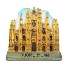 3D всемирно известные европейские строительные магнитные наклейки для холодильника, холодильника, магнитные сделай сам, домашний декор, держатель для сообщений, сувенир