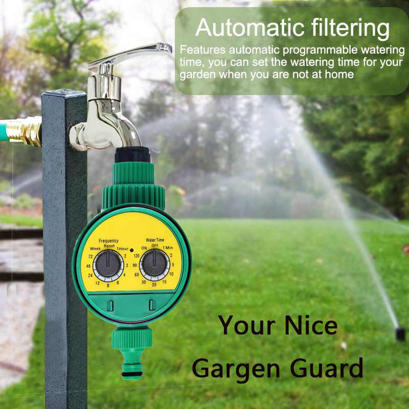 水タイマー防水ホーム自動 water timer garden 灌漑 controller 散水機械式 2 時間タイマーコントローラ