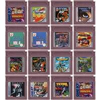 16 קצת וידאו משחק מחסנית קונסולת כרטיס עבור Nintendo GBC לפעול פעולה משחק סדרת אנגלית שפה מהדורה
