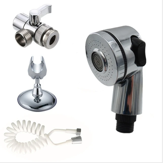 Home Water Faucet External Shower Wash Hair Water Tap Hose Head Kitchen Household Defence Splash Nozzle Shower Head