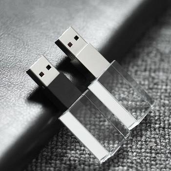 16GB 32GB 64GB Fashion New Metal Crystal 2 IN 1 USB 2.0 memory flash stick pen drive (with logo)