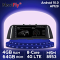 Европейский Склад 8Core Android 10 автомобильный dvd для BMW 5 серия F10 F11 2010-2016 CIC НБТ автомобильный GPS навигация мультимедийное радио f10