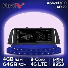 Radio Multimedia con GPS para coche, Radio con Android 10, 8 núcleos, dvd, CIC, NBT, GPS para coche, para BMW serie 5, F10, F11, 2006-2012
