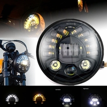 7 INCH MOTORCYCLE PROJECTOR Touring HEADLIGHT HID BULB HEADLIGHT NEW