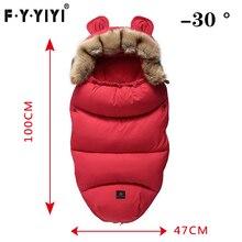 Спальный мешок для малышей от 0 до 24 месяцев, спальный мешок для коляски, весенне-зимние теплые спальные мешки, халат для младенцев, плотные теплые конверты+ подарок