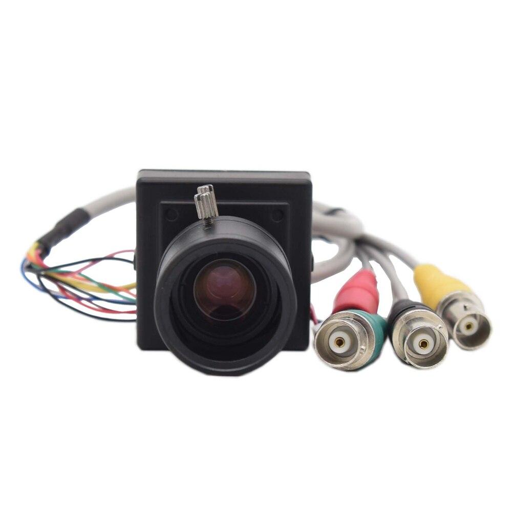 HD-SDI 2.0MP 1080P SONY sécurité CCTV manuel zoom objectif boîte industrielle diffusion en direct de qualité industrielle Mini SDI caméra