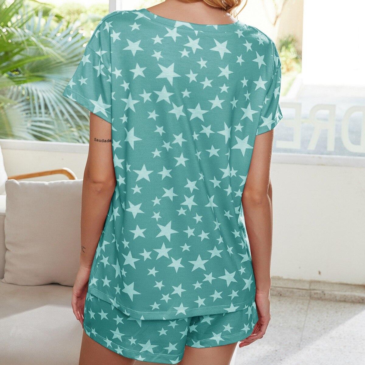 Купить женская домашняя одежда повседневная пижама с принтом окрашенная