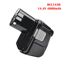 Bonacell 14.4v 4000mah para hitachi bcl1430 bateria para hitachi cj14dl dh14dl ebl1430 bcl1415 li-ion bateria l50