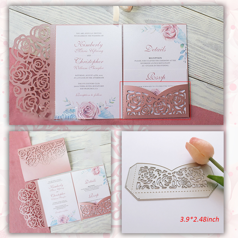 Cutting Dies Wedding Lace Flowers Metal  Craft Dies Scrapbooking New 2018 Dies