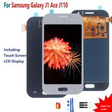 For SAMSUNG GALAXY J1 Ace J110 J110M J110L J110F Touch Screen LCD Display Digitizer Assembly For For SAMSUNG GALAXY J1 SIZE 4.3