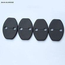 цена на Car  Door Lock Anti Rust Protection Cover 4Pcs/set For Skoda Octavia Fabia Superb Rapid Yeti Car Accessories